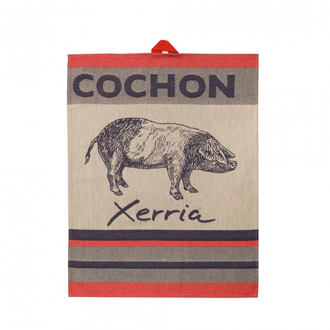 Toalha de mão Arnaga Cochon - Jean-Vier