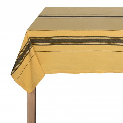 Tablecloth Beaurivage Ambre - Jean-Vier