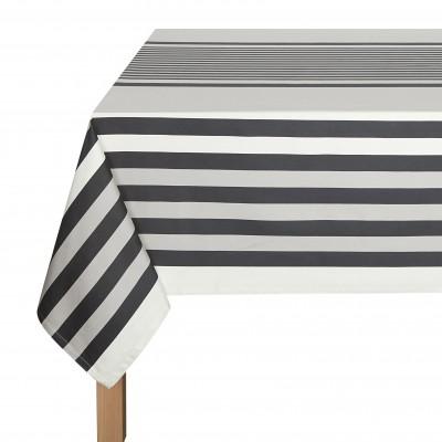 Tablecloth Ainhoa Réglisse - Jean-Vier