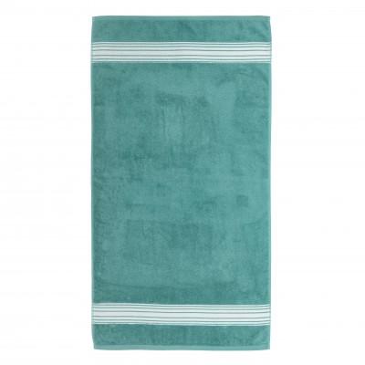 Bath sheet Grand Hotel Turquoise Inversé - Jean-Vier