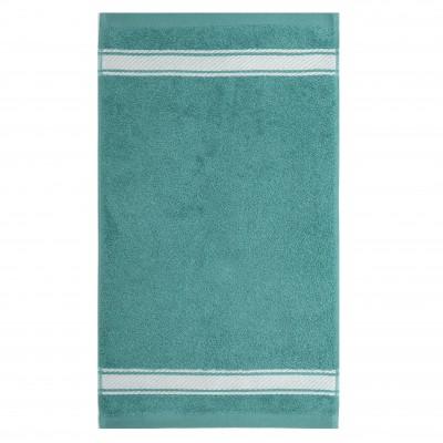 Serviette de bain Grand Hotel Turquoise Inversé - Jean-Vier