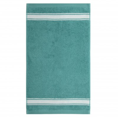 Toalla de tocador Grand Hotel Turquoise Inversé - Jean-Vier