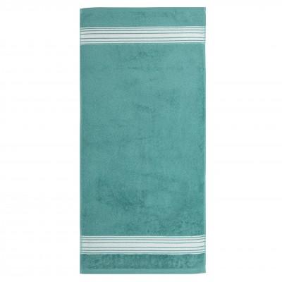 Toalha para convidado Grand Hotel Turquoise Inversé - Jean-Vier
