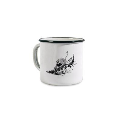 Enamelled Mug Fleurs by Coffee Paper - Jean-Vier