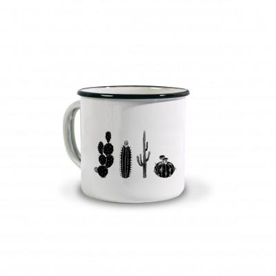 Enamelled Mug Cactus by Coffee Paper - Jean-Vier