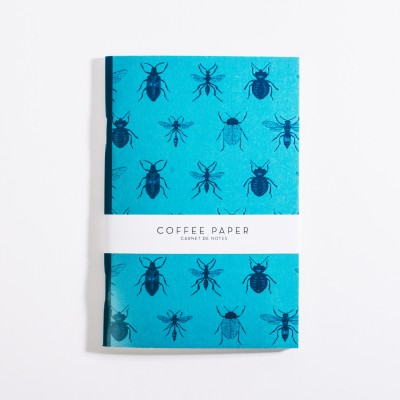 Notebook Insectes Coffee Paper