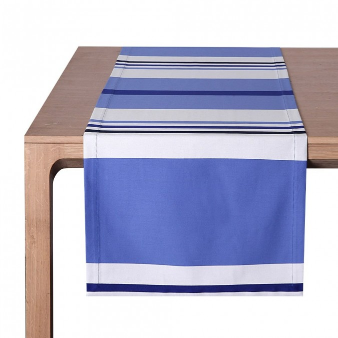 Table Runner Pampelune Amiral - Jean-Vier