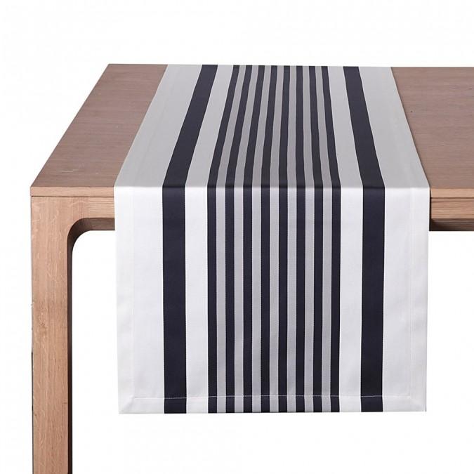 Tischläufer Ainhoa Réglisse - Jean-Vier