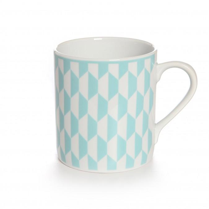 Mug Hiruki Hexagonal Bermudes - Jean-Vier