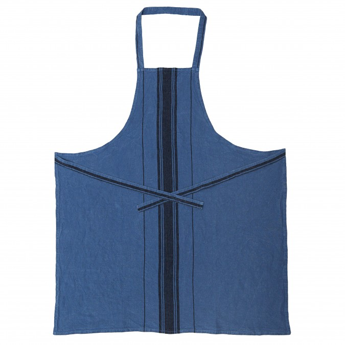 Tablier Beaurivage Bleu Jean - Jean-Vier