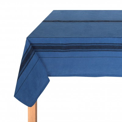 Tablecloth Beaurivage Blue Jean - Jean-Vier