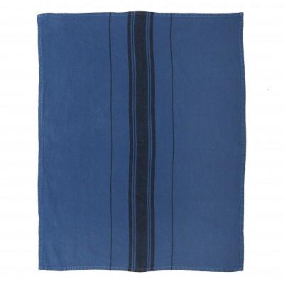 Hand towel Beaurivage Bleu Jean - Jean-Vier