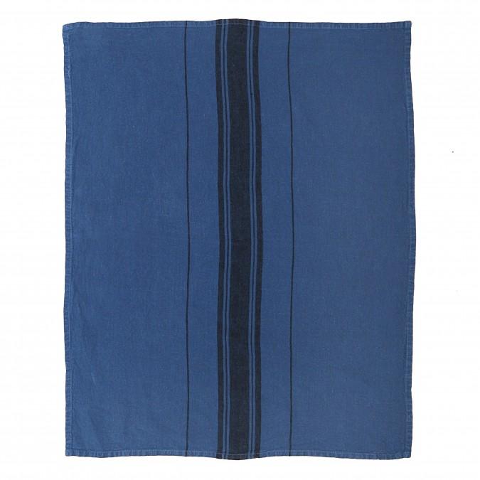 Torchon Beaurivage Bleu Jean - Jean-Vier