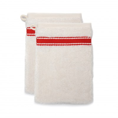 Set of 2 wash gloves Grand Hotel Rouge Sport
