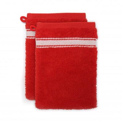 2er-Pack Waschlappen Grand Hotel Rouge Sport Inversé - Jean-Vier