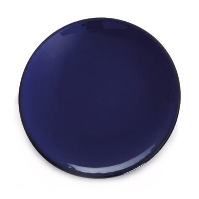 Dinner plate Chantaco Bleu - Jean-Vier