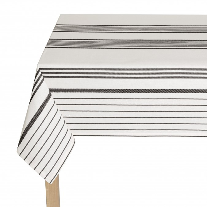 Toalha de mesa Berrain Fusain - Jean-Vier