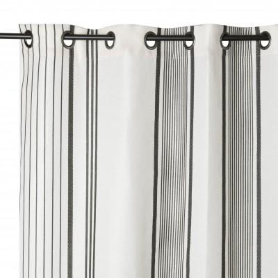 Curtain Berrain Fusain - Jean-Vier
