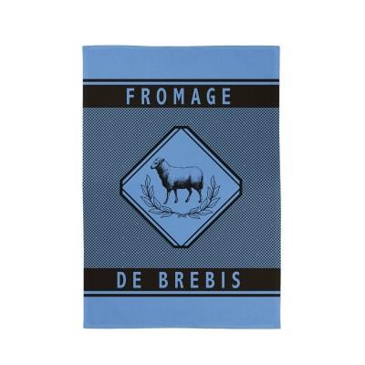 Asciugamani Errobi Brebis Lavande - Jean-Vier