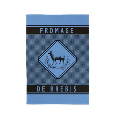 Toalha de Mão  Errobi Brebis Lavande - Jean-Vier
