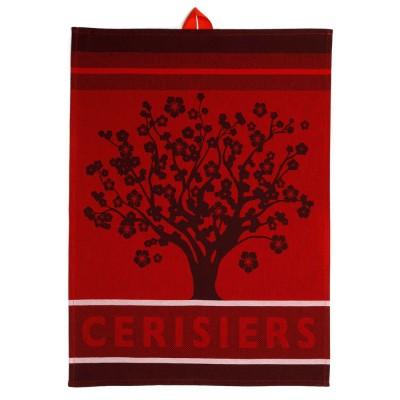 Hand towel Arnaga Cerisiers  - Jean-Vier