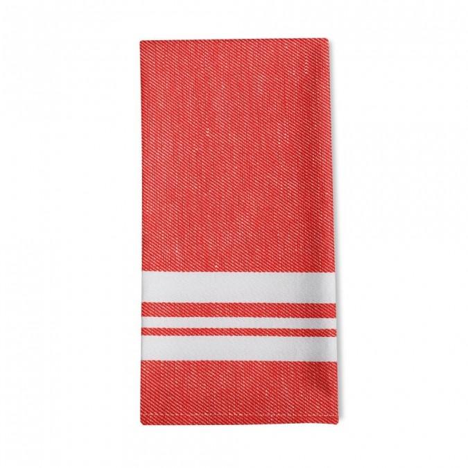 Striped napkin Saint-Jean-de-Luz Gourmandise - Jean-Vier