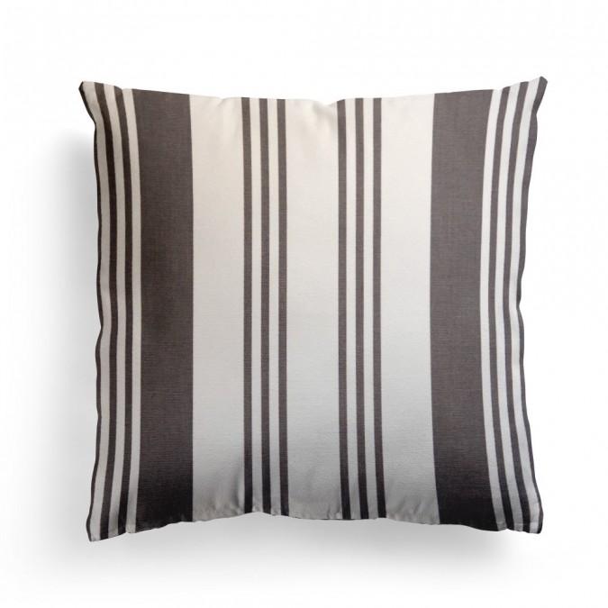 Cushion cover Maia Réglisse - Jean-Vier