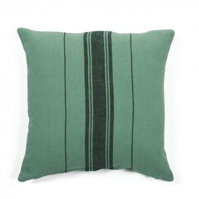 Cushion cover Beaurivage Vert Pré - Jean-Vier
