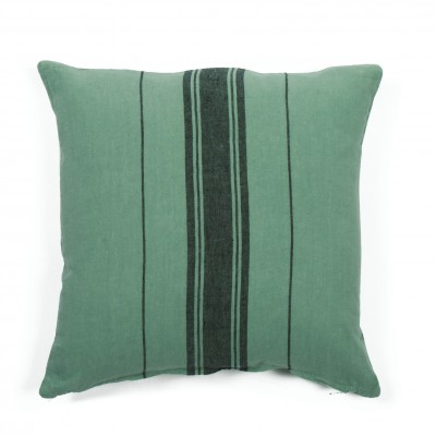 Cushion cover Beaurivage Vert Pré - Jean-Vier