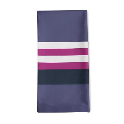 Striped napkin Ainhoa Myrtille