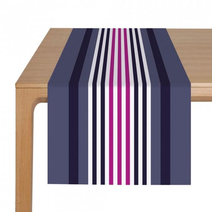 Tischläufer Ainhoa Myrtille - Jean-Vier