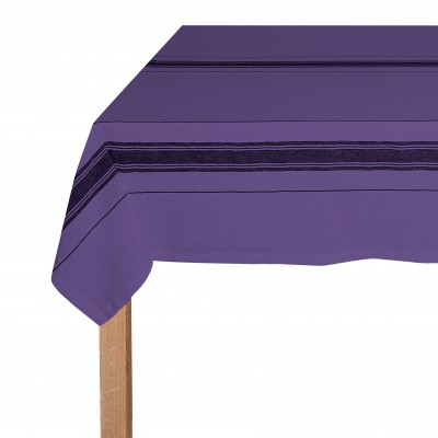 Tablecloth Beaurivage Violet - Jean-Vier