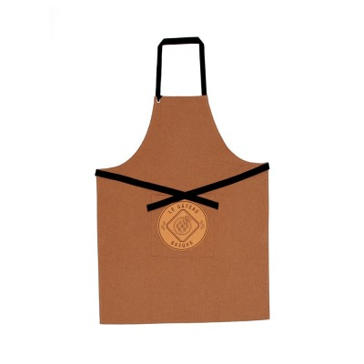 Apron Errobi Gateau Basque Brown