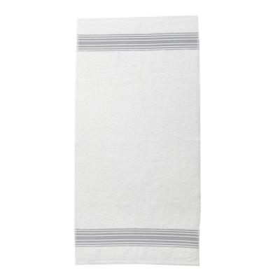 Asciugamano per viso Grand hotel Gris galet - Jean-Vier