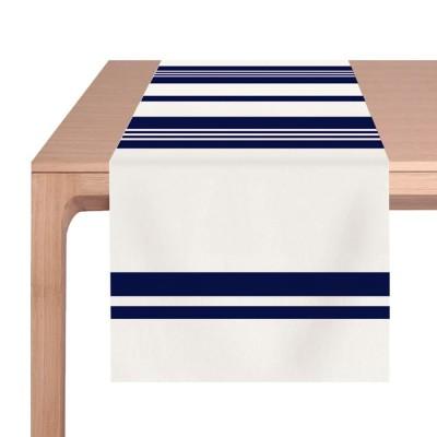 Tischläufer Pampelune Encre - Jean-Vier