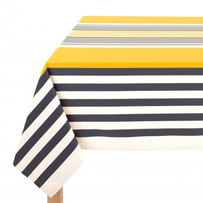 Tablecloth Ainhoa Gold - Jean-Vier
