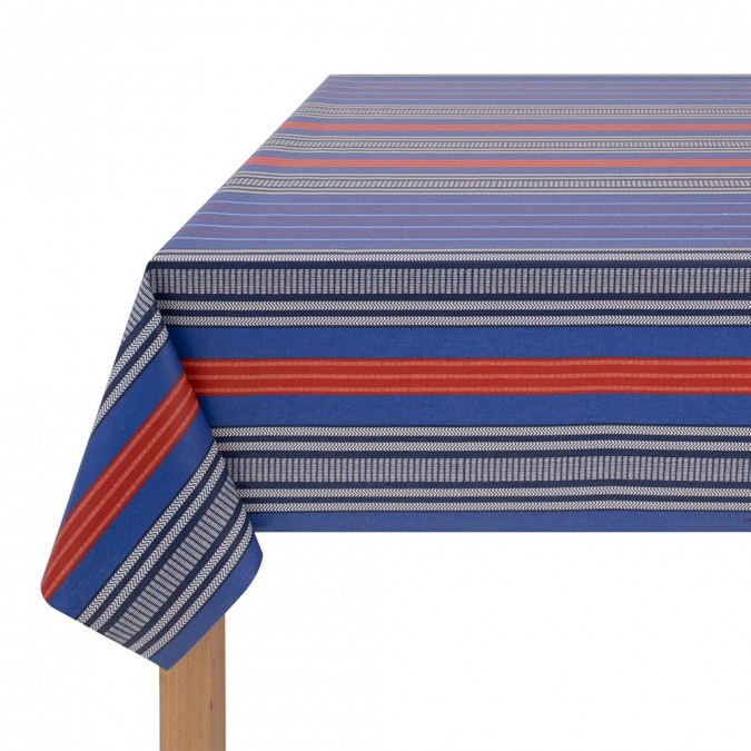Toalha de mesa emborrachada Deba Océan - Jean-Vier