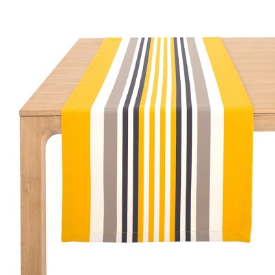 Table runner Ainhoa Gold - Jean-Vier