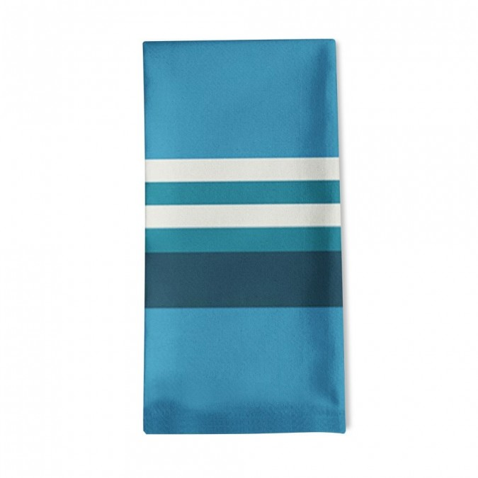Striped napkin Ainhoa Atlantique - Jean-Vier
