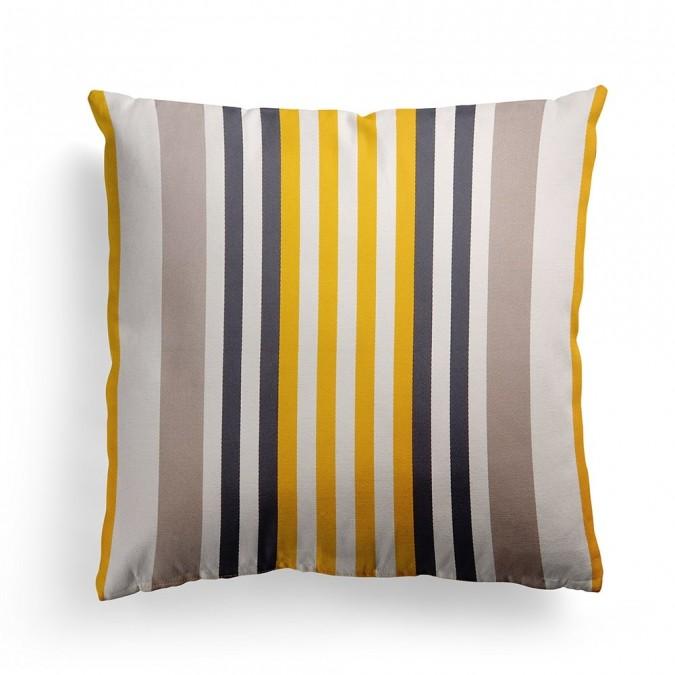 Cushion cover Ainhoa Gold - Jean-Vier