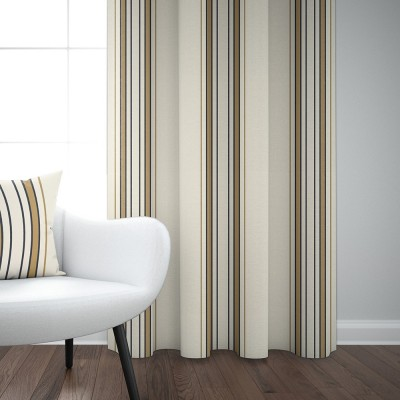 Curtain cotton satin Espelette Argile