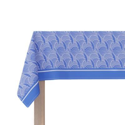Nappe Bilbatu Vagues Bleu - Jean-Vier