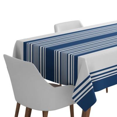 Mantel ascain azul indigo - Jean-Vier