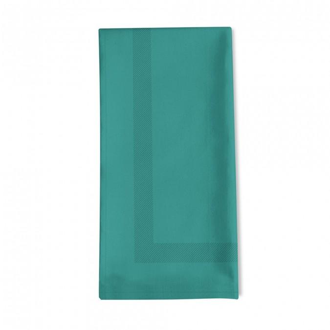 Einfache Serviette enea vert pin - Jean-Vier