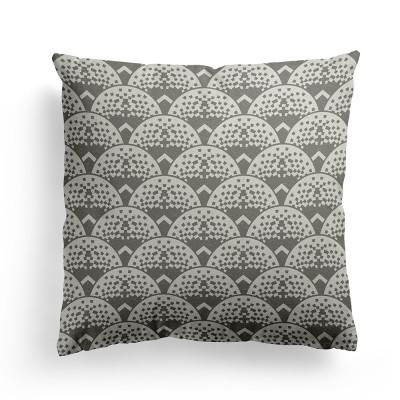 Cushion cover uhaina ezkata black - Jean-Vier