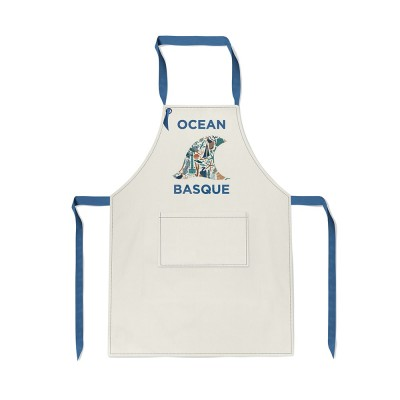 Tablier Udako Ocean basque