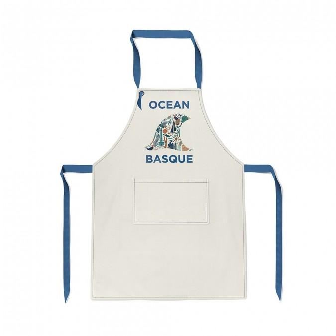 grembiule da cucina Udako Ocean basque - Jean-Vier