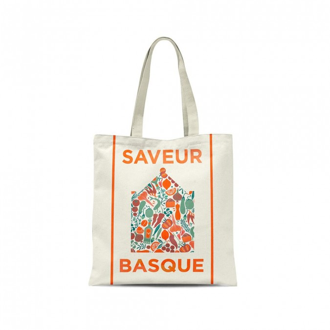 Tote bag Udako saveur basque - Jean-Vier