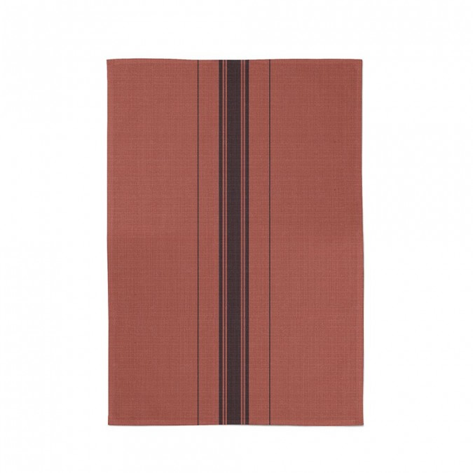 asciugamani beaurivage terracotta - Jean-Vier