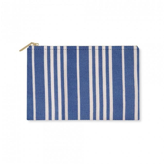 Flat Purse Souraïde Bleu - Jean-Vier